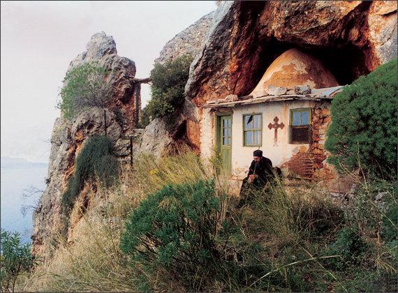 Картинки по запросу в пустыне святой горы афон